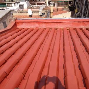 impermeabilización de tejado con poliurea -8