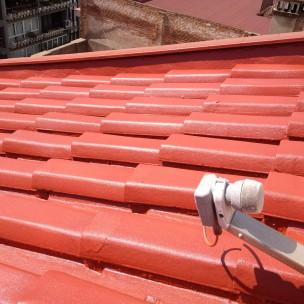 impermeabilización de tejado con poliurea -10