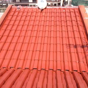 impermeabilización de tejado con poliurea -11
