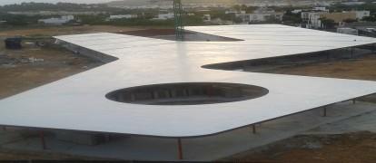 Poliurea, Impermeabilización Cubierta, Ibiza, Santa Eulalia del Río