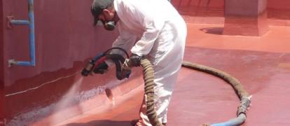 Impermeabilización cubierta con poliurea, Comunidad de Propietarios