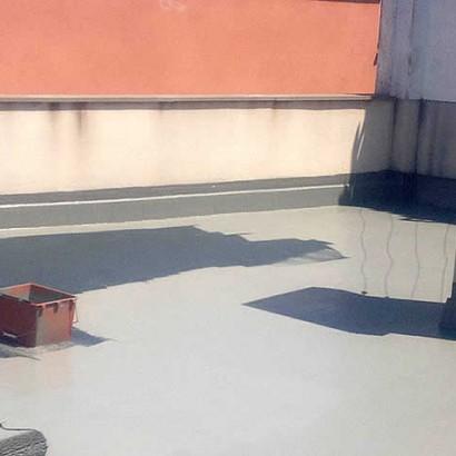 GO&GO, impermeabilización de terrazas con poliurea.
