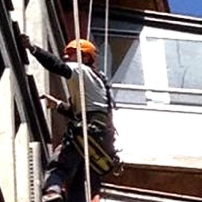 Trabajos Verticales, Comunidad de Propietarios, Barcelona.