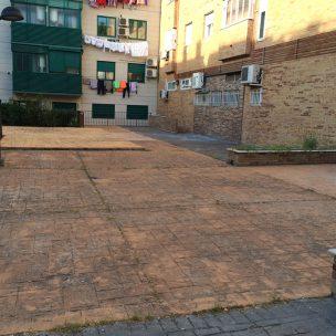 Impermeabilización con poliurea en patio comunitario 1