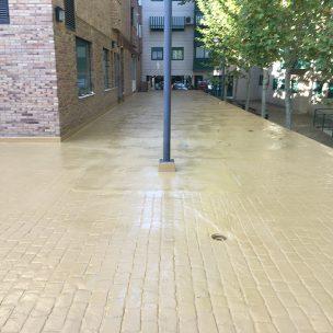 Impermeabilización con poliurea en patio comunitario 14