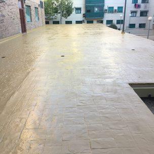 Impermeabilización con poliurea en patio comunitario 16