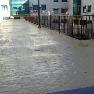Impermeabilización con poliurea en patio comunitario 18