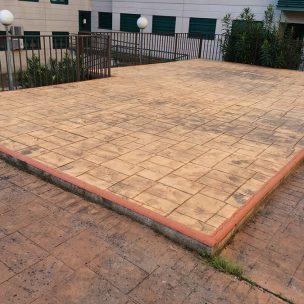 Impermeabilización con poliurea en patio comunitario 3