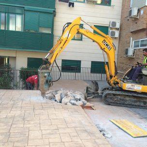 Impermeabilización con poliurea en patio comunitario 5