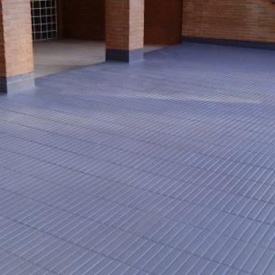 Impermeabilización de poliurea en patio comunitario en Guadalajara 4