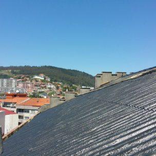 Impermeabilizacion de cubierta con poliurea en Pontevedra 12