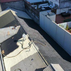 Impermeabilizacion de cubierta con poliurea en Pontevedra 15