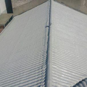 Impermeabilizacion de cubierta con poliurea en Pontevedra 19