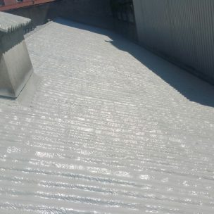Impermeabilizacion de cubierta con poliurea en Pontevedra 20