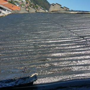 Impermeabilizacion de cubierta con poliurea en Pontevedra 8