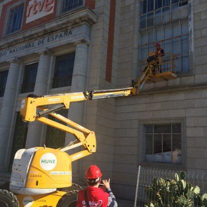Rehabilitación parcial de Edificio Marconi de Radio Televisión Española RTVE.