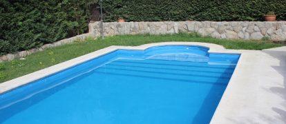Rehabilitación e Impermeabilización con poliurea de piscina en Guadalajara