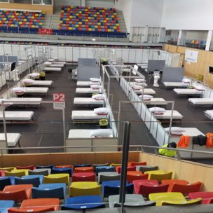 Montaje Hospital-COVID 19 -Pavello CAstell d'en Planes - VIC (7)